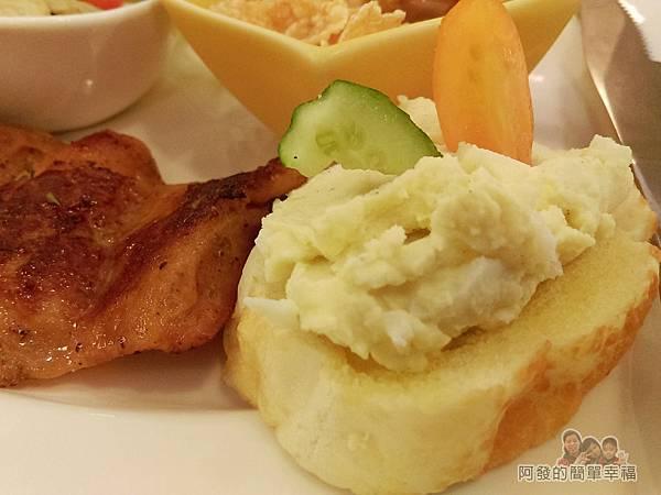 窩在一起16-Brunch輕食早午餐-法式套餐-法國麵包佐蛋沙拉