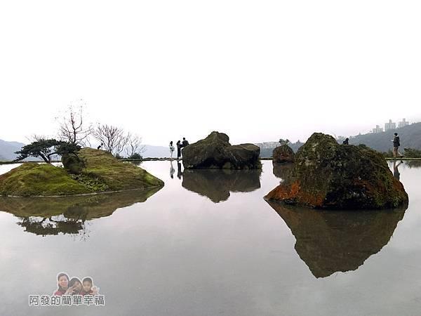 八煙聚落26-水中央景色
