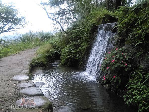 八煙聚落34-宛如迷你瀑布的美景