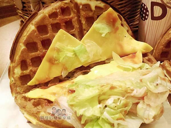 板橋小木屋鬆餅19-起司蔬菜鬆餅