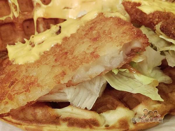 板橋小木屋鬆餅22-薯餅起司鬆餅