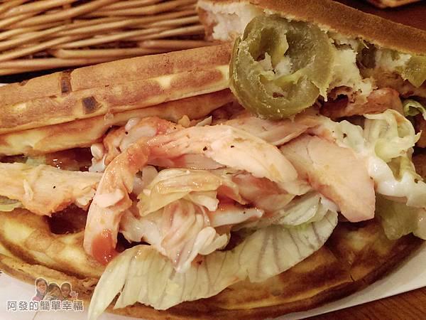 板橋小木屋鬆餅25-墨西哥燻雞蔬菜鬆餅-墨西哥辣椒