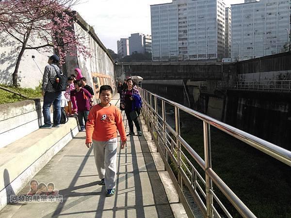 東湖樂活公園26-樂活公園沿著〝內溝溪〞畔旁而建