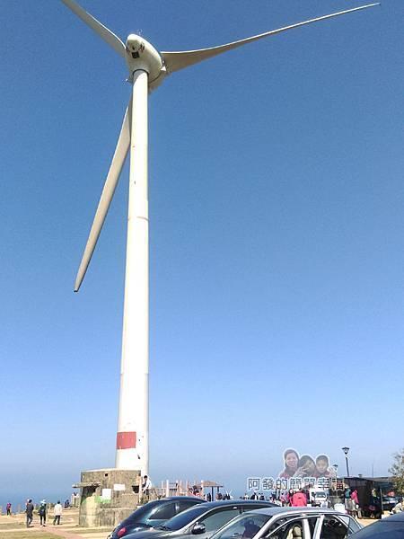 苗栗縣後龍-好望角07-好望角廣場中的大風車