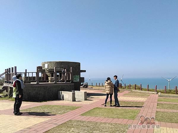 苗栗縣後龍-好望角14-廣場中的舊軍事碉堡