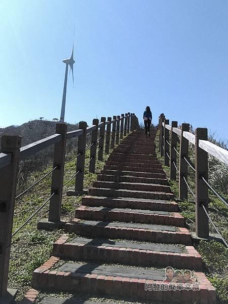 苗栗縣後龍-好望角29-登山步道往回(上)一景