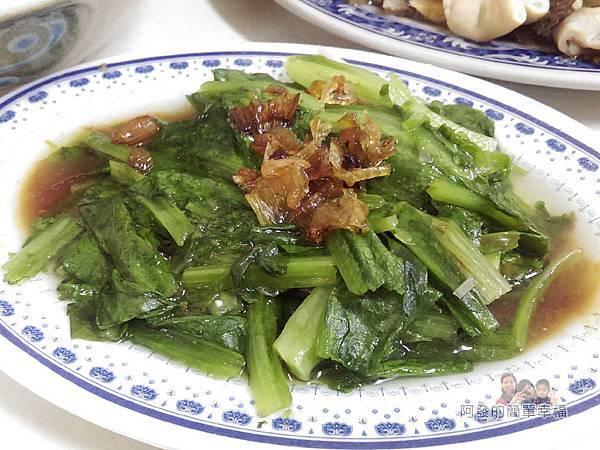 樂華夜市-麵嫂14-燙青菜