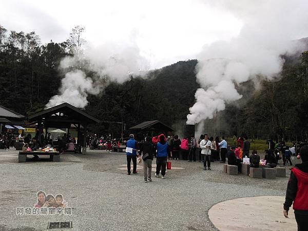 清水地熱12-白煙與圍繞的人潮
