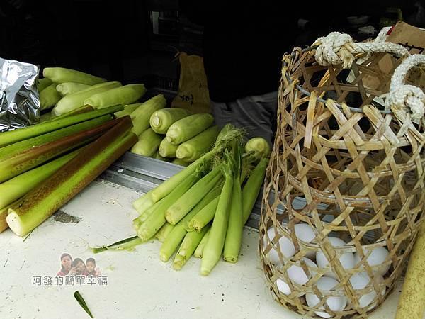 清水地熱14-販賣一些可以用溫泉煮食的農產品