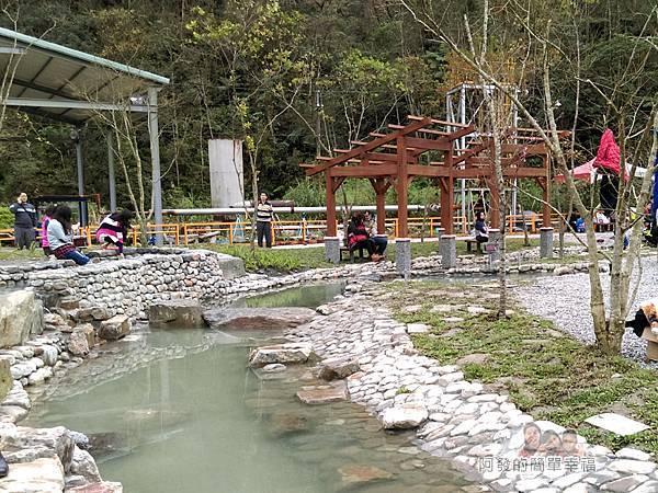 清水地熱45-新設的仿野溪溫泉泡腳池
