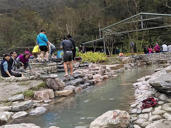 清水地熱46-新設的仿野溪溫泉泡腳池