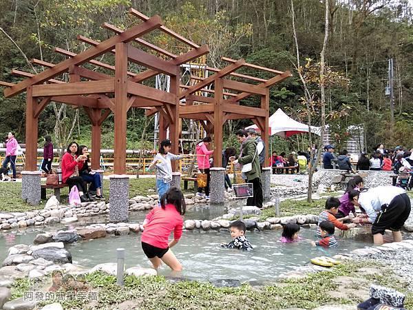 清水地熱47-新設的仿野溪溫泉泡腳池