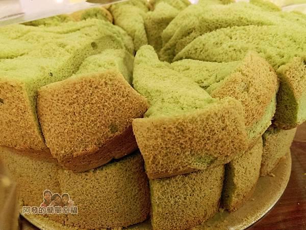 竹北-春上布丁蛋糕13-試吃區-抹茶蛋糕