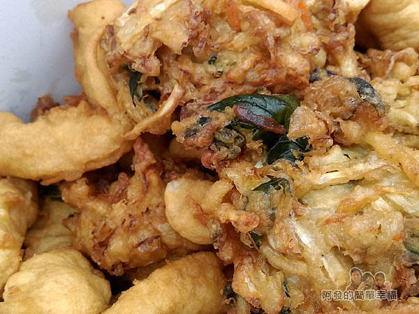 味珍香卜肉店09-炸蔬菜