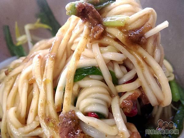 黃石市場-王家黃石肉羹06-麻醬乾麵