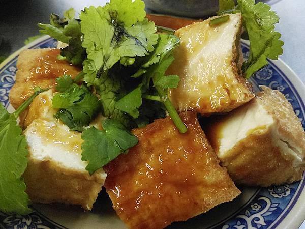 黃石市場-王家黃石肉羹10-川燙油豆腐