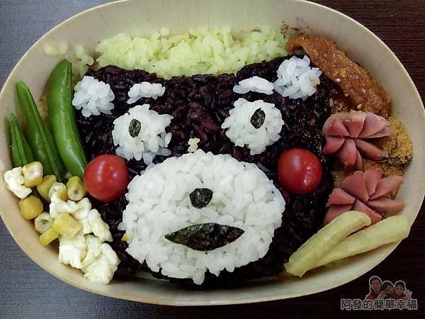創意五色米飯糰04-熊本熊