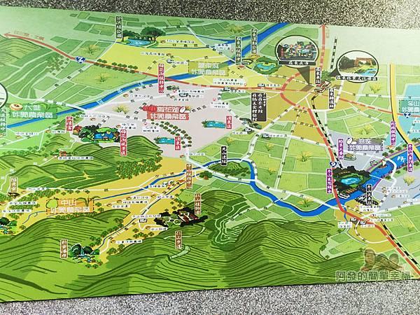 菇菇茶米館13-冬山旅遊地圖