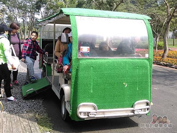 2016宜蘭綠色博覽會08-園區內接駁車
