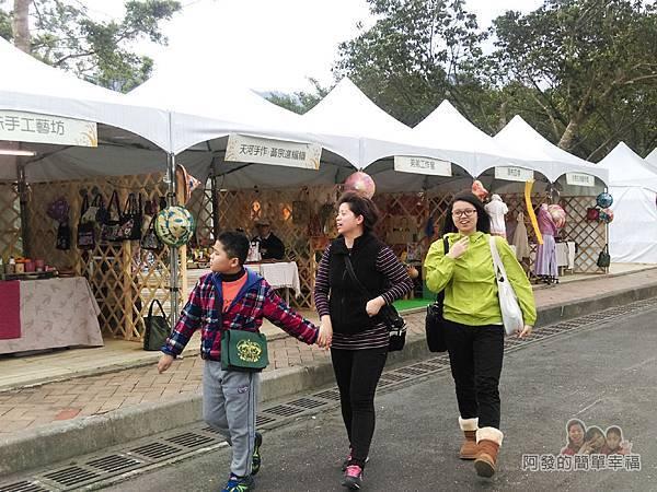2016宜蘭綠色博覽會09-出口旁A漂流森林A11文創市集