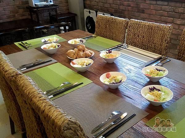 好客三星民宿31-一早的餐桌