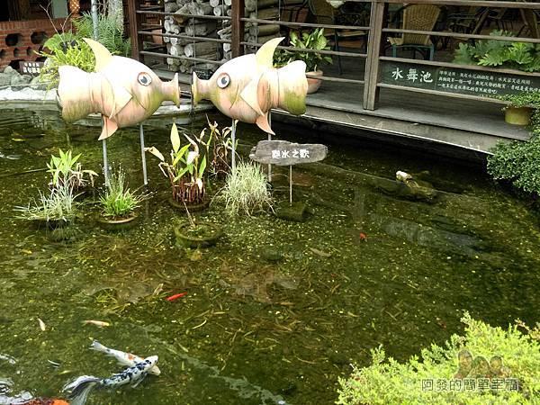 台北花卉村11-珠簾走廊-入口旁水舞池