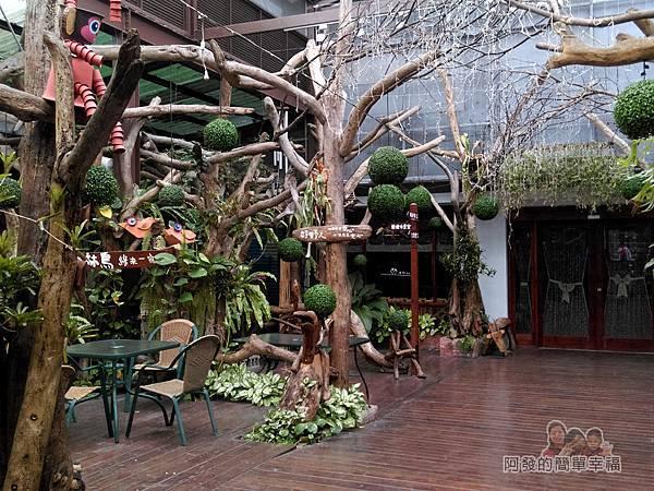 台北花卉村21-森林會館-有如森林般散發獨特自然風情