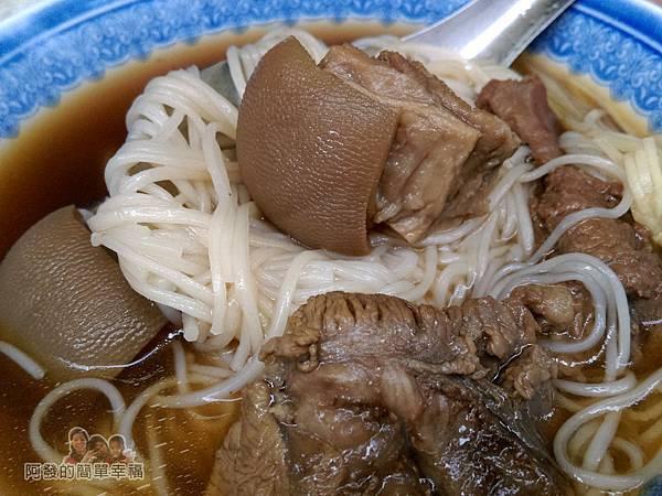 蔡記岡山羊肉12-燉肉麵線-特寫