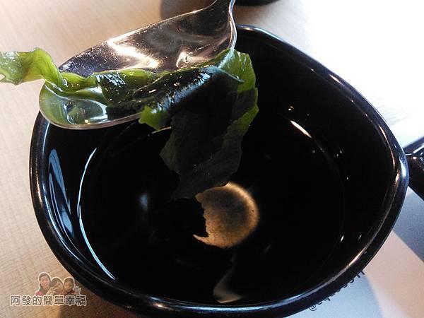 OMAYA春川炒雞11-海帶湯