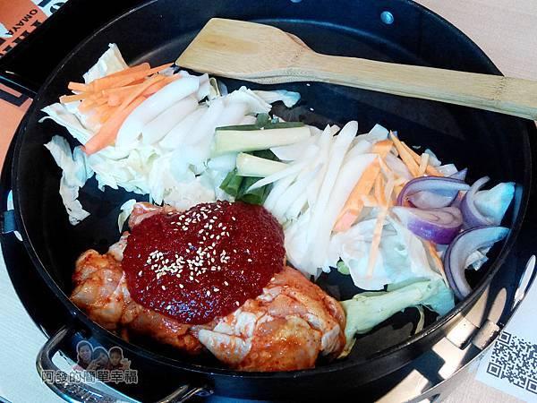 OMAYA春川炒雞13-春川炒雞B餐