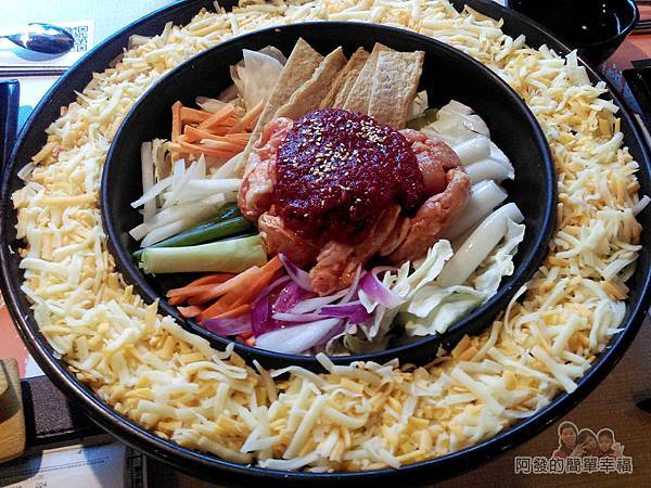 OMAYA春川炒雞14-李光洙(雙倍起司)春川炒雞鍋