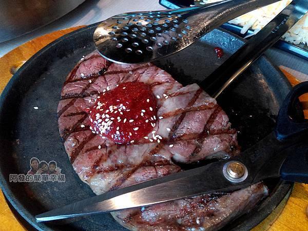 OMAYA春川炒雞17-12盎司厚切肉排特寫