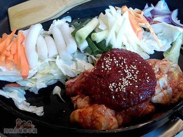 OMAYA春川炒雞18-春川炒雞B餐