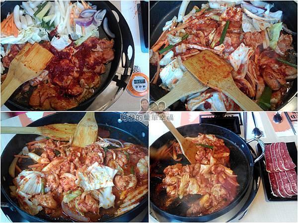 OMAYA春川炒雞19-春川炒雞B餐-料理過程