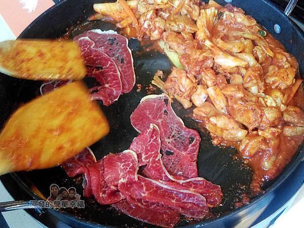 OMAYA春川炒雞21-春川炒雞B餐-炒牛肉