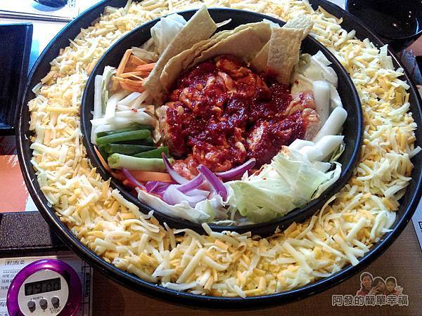 OMAYA春川炒雞29-李光洙(雙倍起司)春川炒雞鍋-先拌肉