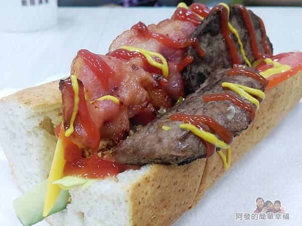斯味漢堡14-今日特餐-牛肉培根潛艇堡