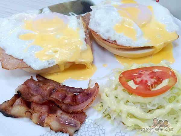 斯味漢堡21-斯味迪克蛋套餐-餐盤內容