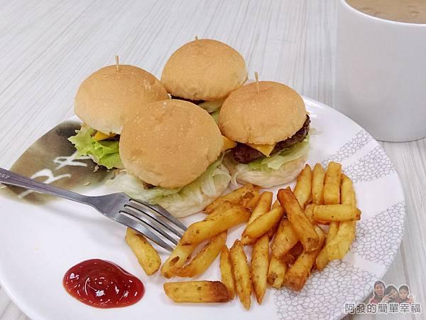 斯味漢堡26-迷你小漢堡套餐