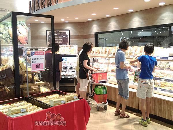 全聯全興店03-麵包區