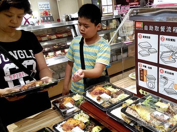 全聯全興店10-熟食區-便當區