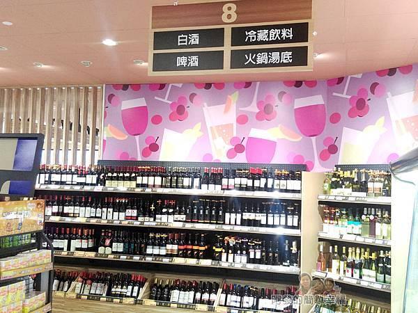 全聯全興店21-白酒區