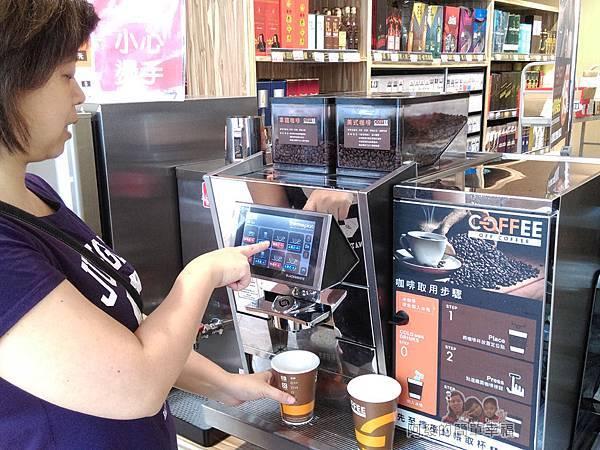 全聯全興店27-自助咖啡區-自己動手