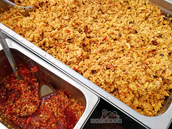 卜記專業麵線08-自製辣菜脯與蒜頭辣椒