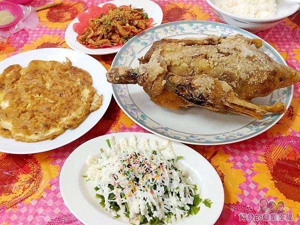 元福小吃店12-合菜上桌