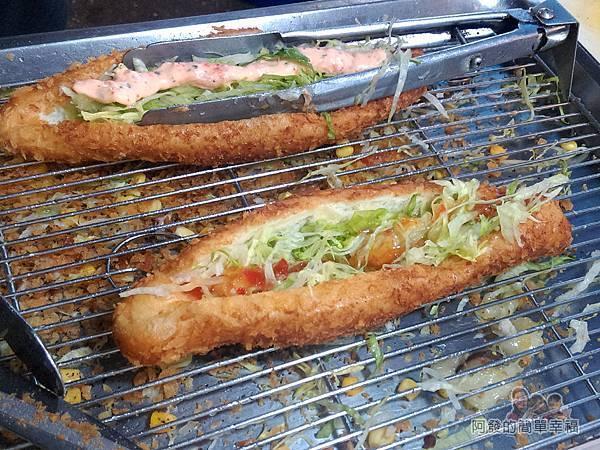 星光夜市28-御品香營養三明治-製作