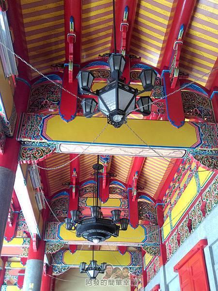 三峽白雞行脩宮12-廟內樑柱