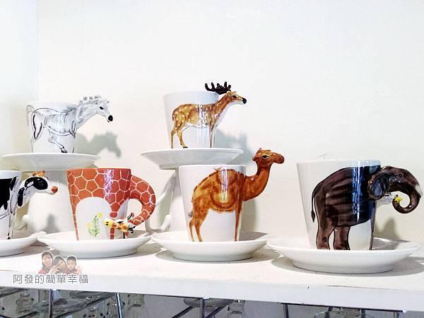 福旺亭11-動物造型馬克杯