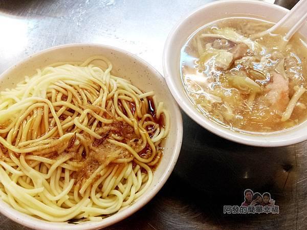 阿國蝦仁羹06-乾麵和綜合羹