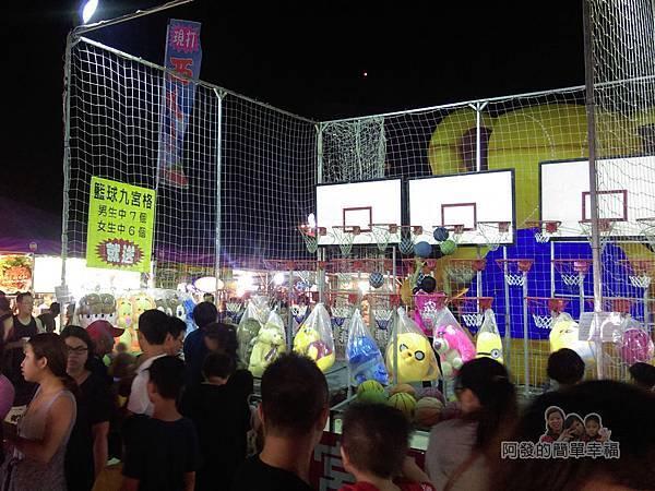大安童話夜市33-籃球九宮格